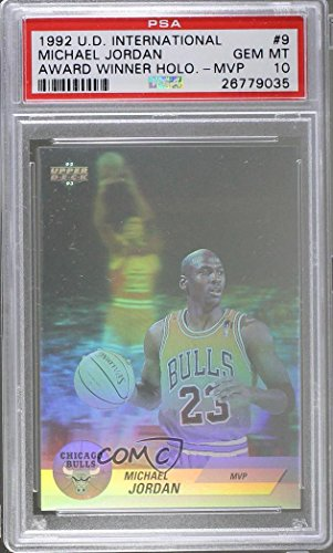 Michael Jordan PSA GRADED 10 (Basketball Card) 1992-93 Up...