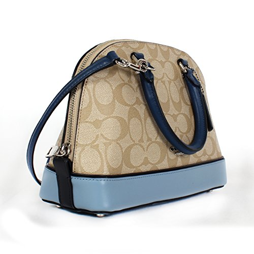 Purse Sierra Inclined Mini Shoulder Multi Handbag Coach Satchel Blue Shoulder Women��s U1x84T