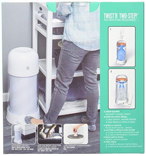 Prince Lionheart Twist/'R Diaper Disposal Refill Bags 10 Piece