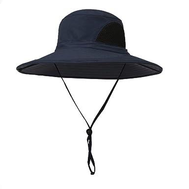 Rcool Gorras de béisbol Viseras Gorro de pescador Pamelas Sombreros Panamá, Sun Bucket Mesh Boonie gorra de pesca ajustable: Amazon.es: Ropa y accesorios
