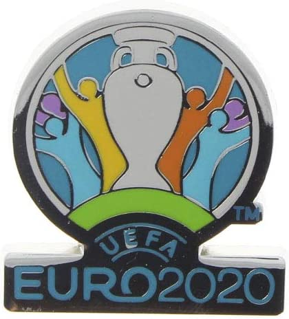 3 cm UEFA EURO 2020/™ Ansteckpin Offizielles Logo