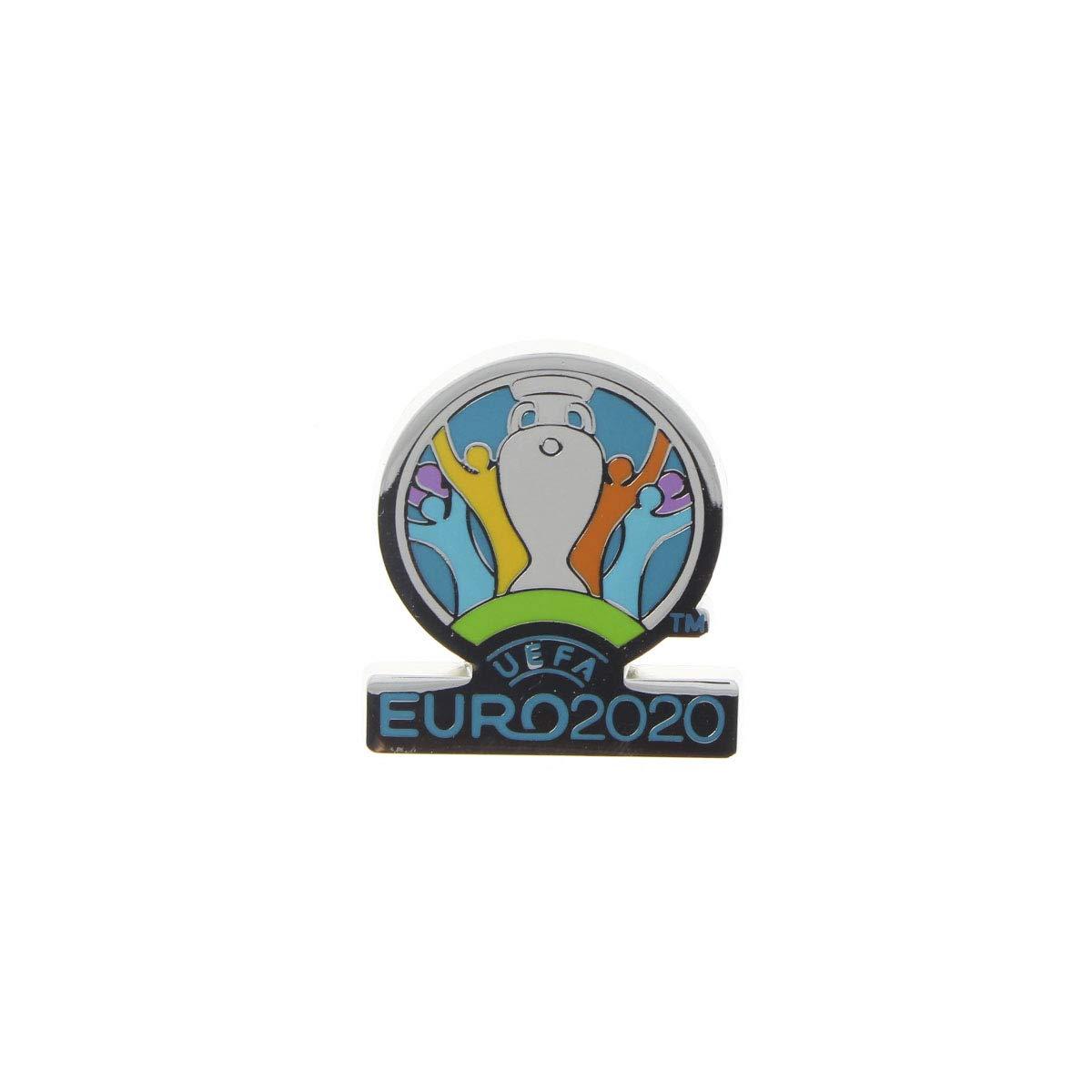 Ansteckpin Skillzy offizielles Maskottchen in Crossover Pose 4 cm UEFA EURO 2020/™