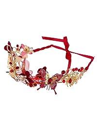 MonkeyJack Elegant Lady Girls Flower Butterfly Hair Band Headwear Hair Accessories