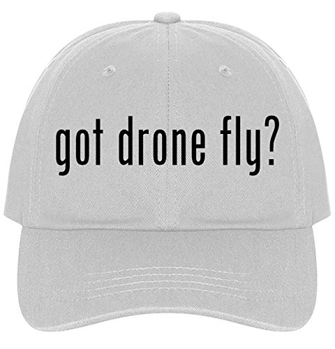 The Town Butler got Drone Fly? - A Nice Comfortable Adjustable Dad Hat Cap, White
