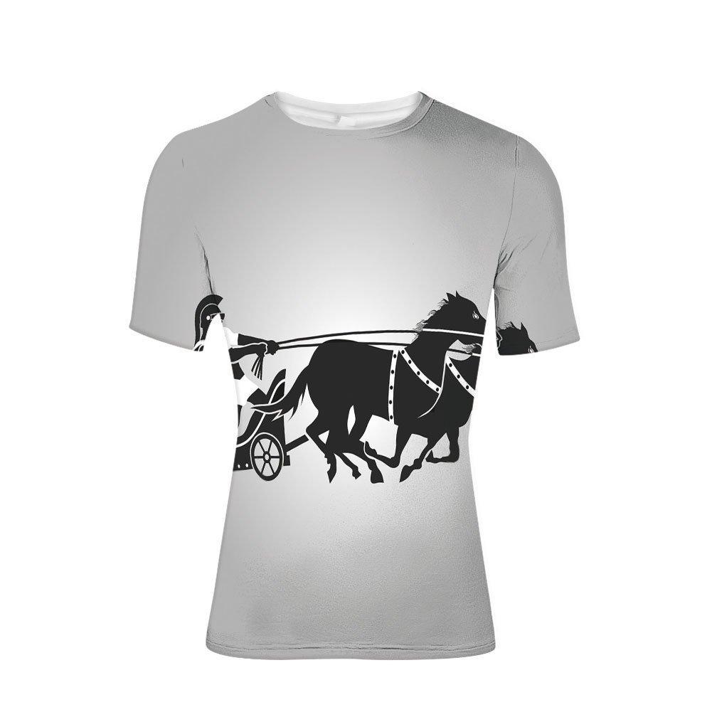 Amazon com: CUATEST Tee Shirts Tops,Gladiator with Horse