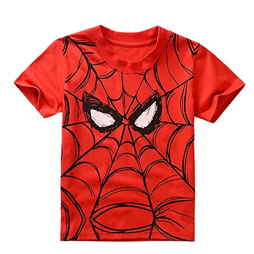 StylesILove Super Hero Soft Cotton Boy Tee Shirt (4-5 Years) (Superhero Outfits)