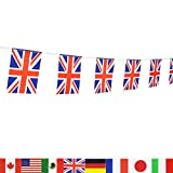 united kingdom decorations - British Union Jack Flag,LoveVC 100 Feet United Kingdom UK Great Britain Flag National Country World Flags Banners,Party Decorations For Grand Opening,Bar,Sports Events,International Festival