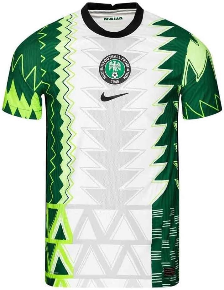 2020-2021 Nigeria Vapor Home Football Soccer T-Shirt Jersey