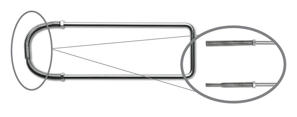 Key Surgical IS-23010 Instrument Stringer, Spring