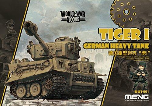 Meng Model   German Tiger I Heavy Tank World War Toon