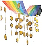 12ft. Pot of Gold Hanging Ceiling Decoration St Patricks Day RAINBOW COINS
