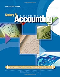 Amazon century 21 south western accounting multicolumn journal century 21 accounting multicolumn journal available titles cengagenow fandeluxe Gallery