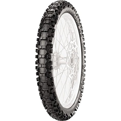 Pirelli Scorpion MXMH 554 Tire - Front - 80/100-21 , Position: Front, Tire Size: 80/100-21, Rim Size: 21, Load Rating: 51, Speed Rating: M, Tire Type: Offroad, Tire Application: Intermediate 2149000