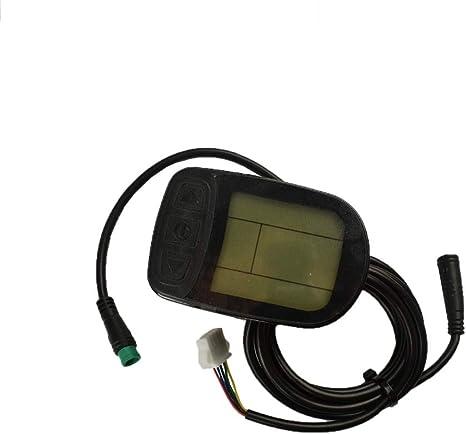 5pins Waterproof connector KT-LCD3 Display 24V//36V//48V Meter Control Panel ebike
