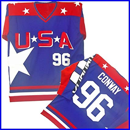 9c8b4fd06 Amazon.com  TEAM USA HOCKEY JERSEY - MIGHTY DUCKS D2 - CONWAY  96   Everything Else