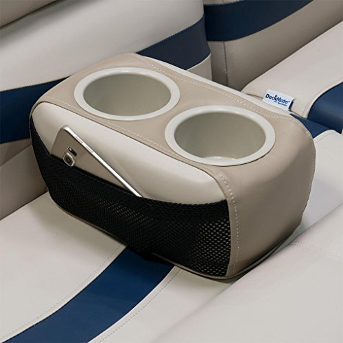 Cup Portable Holders - DeckMate Portable Pontoon Boat Cup Holders (Ivory)