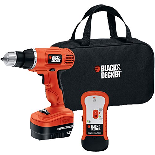 (BLACK+DECKER(TM) GCO12SFB 12-Volt Drill/Driver with Stud Sensor Kit)