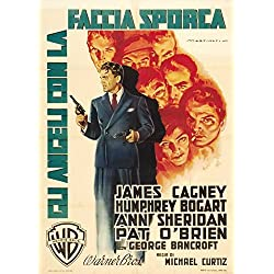 Angels With Dirty Faces Poster Movie Italian B 11 x 17 Inches - 28cm x 44cm James Cagney Pat O'Brien Humphrey Bogart Ann Sheridan George Bancroft Billy Halop Leo Gorcey