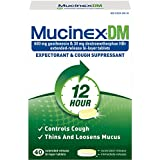 DM Expectorant and Cough Suppressant, 40 Tablets per Bottle, Sold as 1 Each