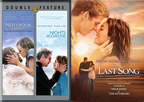 Nicholas Spark 3-Movie Bundle - The Notebook, Nights of Rodanthe & The Last Song