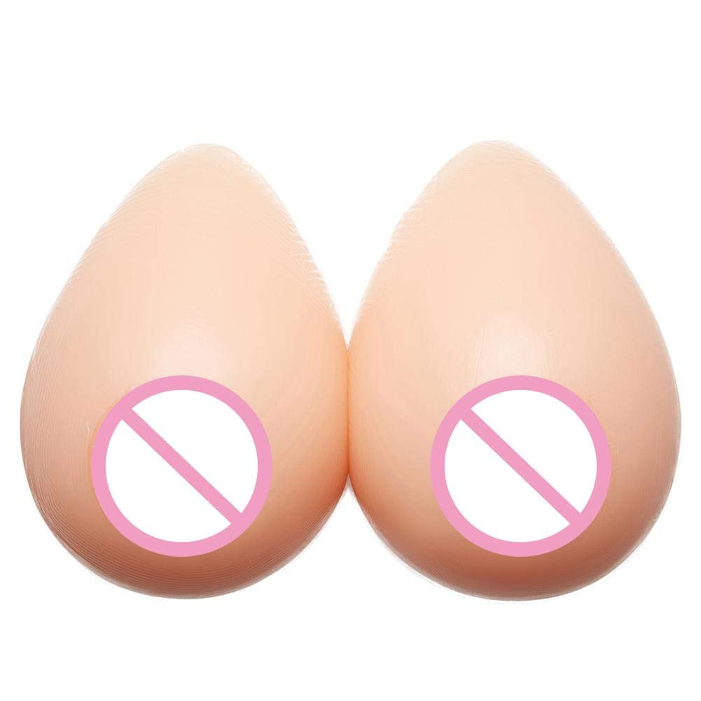 sofulaile Silicone Breast Pads Drop Type Safe and Non-Toxic Soft and Flexible Suitable for Women