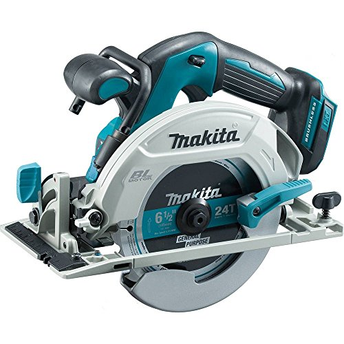 Makita XSH03Z 18V LXT Lithium-Ion Brushless Cordless 6-1/2' Circular Saw, Tool Only