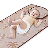 Fairy Baby Summer Cool Mat Baby Bed Pad with Pillow Set,23.62'' 47.24''