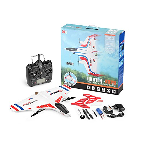COLOR-LILIJ RC Remote Control Airplane - XK X520 2.4G 6CH - 2 pcs Powerful 1307 Brushless Motor, 3D/6G System RC Airplane EPP Anti-Crash, - -3D / 6G Mode - Easy to Fly for Even Beginners(US Stock) by COLOR-LILIJ (Image #9)