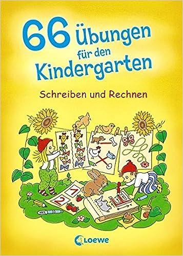 66 Übungen für den Kindergarten: Schreiben und Rechnen: Amazon.de ...