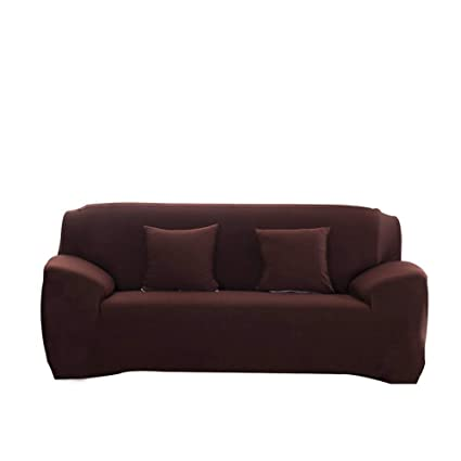 Amazon.com: FORCHEER Stretch Couch Covers for Three Cushion Sofa ...