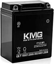 KMG 12V Battery Compatible with 1983-1986 Honda VT500C Shadow YT12C Sealed Maintenance Free Battery High Perfo
