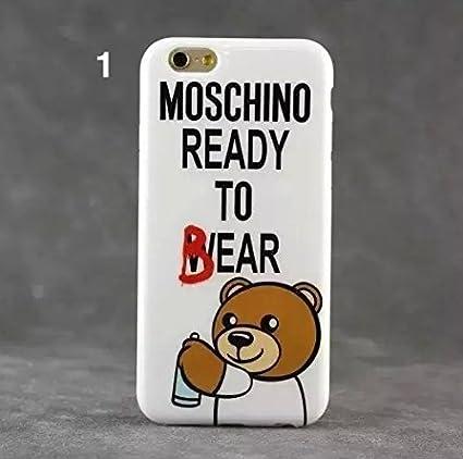 cover iphone 6 silicone moschino 098b3e