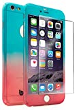"""iPhone 6 Plus / 6s Plus 5.5"""" Case With Tempered Glass Screen Protector"""