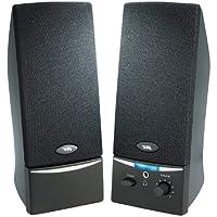 CYBER ACOUSTICS 2.0 Speaker System - 4 W RMS - Black / CA-2014WB /