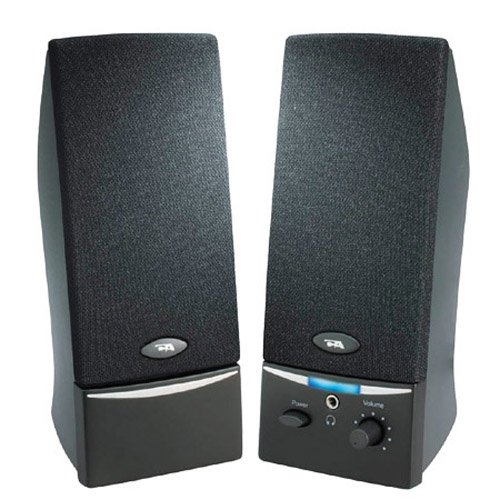 CYBER ACOUSTICS 2.0 Speaker System - 4 W RMS - Black / CA-20