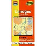 Plan de ville : Limoges (avec un index)