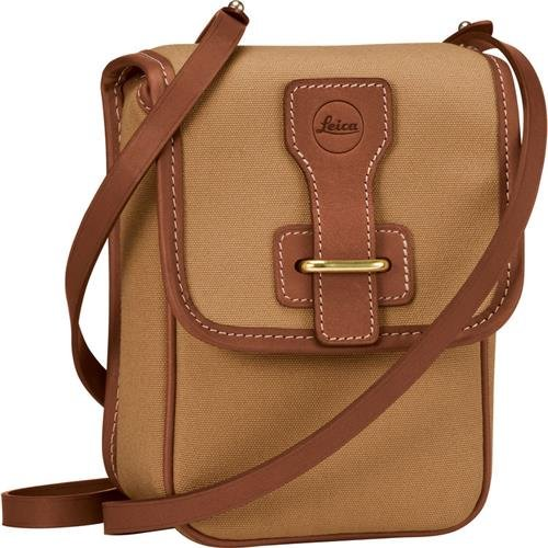 Leica Aneas Bag for Binocular with 42mm Lens, Light Brown by Leica