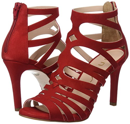Rouge Femme Unisa ks Sandales Ouvert red Bout Wandeo wPqW7g