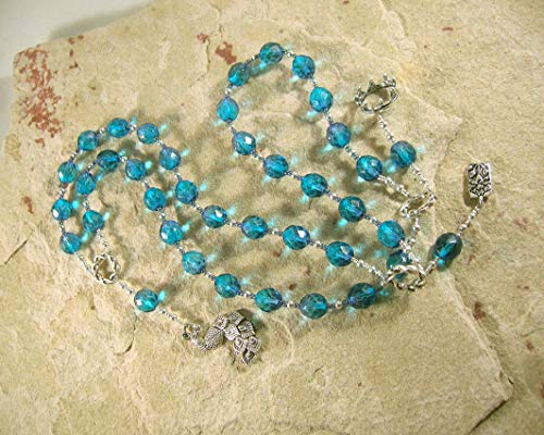 Hera Prayer Beads: Greek Goddess of the Sky and Heavens, Marriage and Fidelity, and Queen of Olympus -