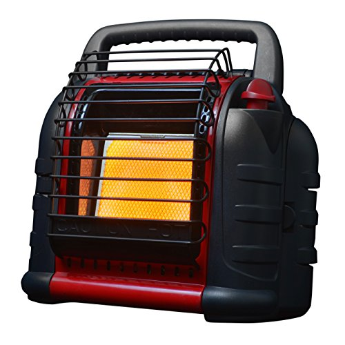 Mr Heater MH12B 12000 BTU Red Hunting Buddy Portable Propane Gas Heater with Fan (Heater Portable Hunting For)