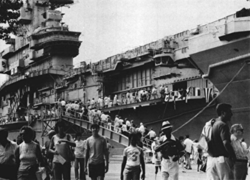 Home Comforts The Decommissioned U.S. Navy Aircraft Carrier USS Intrepid (CVS-11) Open Visitors at The Philade