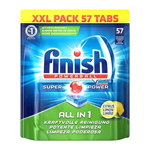 Finish All in 1 - Lemon, XXL Pack, 1er Pack (1 x 57 Tabs)
