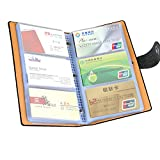 LOYMR PU Leather Business Name Card Book ID Card Credit Cards Organizer (300 Cards)