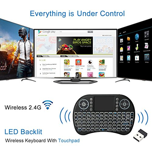 IVSUN T95Z PLUS Android 7.1 TV BOX, Amlogic S912 Octa Core 2GB RAM 16GB ROM Support Dual WiFi 2.4G/5GHz 1000M LAN BT 4.0 UHD 4K 3D Smart TV Boxes with Mini Wireless Keyboard (BACKLIT) by IVSUN (Image #6)