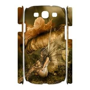 Diy Fairy Girl Phone Case for samsung galaxy s3 3D Shell Phone JFLIFE(TM) [Pattern-2] Kimberly Kurzendoerfer