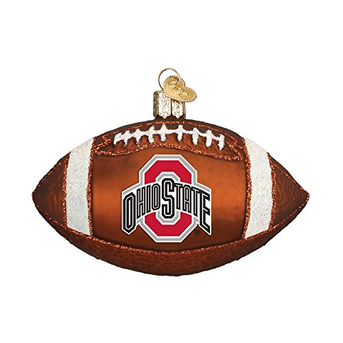 Old World Christmas Ohio State University Football Glass Blown Ornament by Old World Christmas (Image #2)