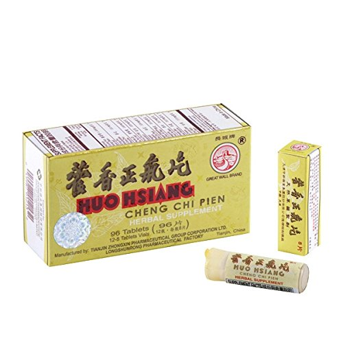 Great Wall Huo Hsiang Cheng Chi Pien (immune and gastrointestinal ) - Herbal Supplement 96 Tablets x3pk