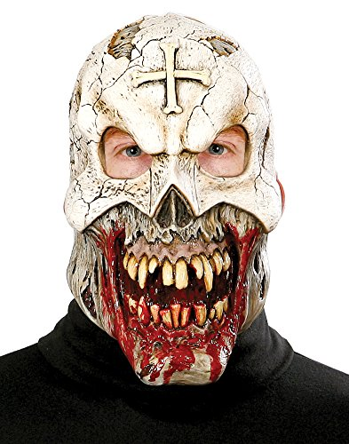 SALES4YA Scary-Masks Voodoo Priest Mask Halloween Costume - Most Adults]()