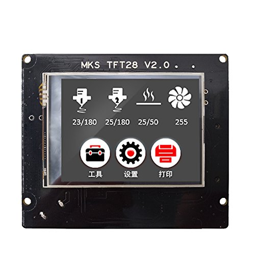 Sunhokey MKS TFT28 V2.0 3D Printer Touch Screen Controller Panel Display Color TFT Support/WIFI/APP/outage 4 Languages