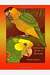 A Colouring Book of Parrots (Coloring Books) Paperback